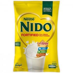 NIDO Full Cream Milk Powder Pouch, 2250g