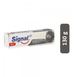 Signal Natural Elements Charcoal White & Detox Complete 8 Toothpaste - 130 g
