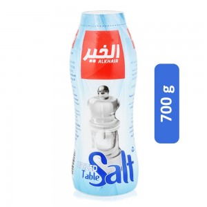 Al Khair Iodized Table Salt - 700 g