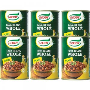 Goody Whole Fava Beans Foul - 6 x 450 g