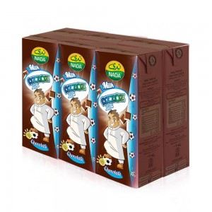 Nada UHT Milk - Azooz Chocolate - 6 x 200ml