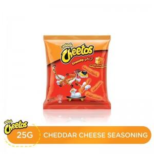 Cheetos Crunchy Cheddar Cheese Chips, 25 gm