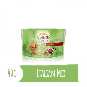 Sunbites Italian Mix Mini Crackers, 40g