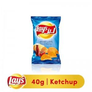 Lays Ketchup Potato Chips, 40g