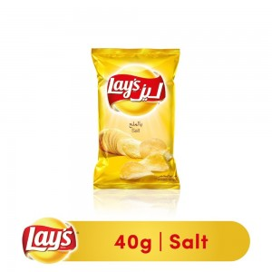 Lays Salted Potato Chips, 40g