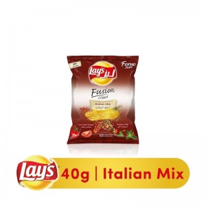 Lay's Forno Fusion Italian Mix Chips - 40 gm