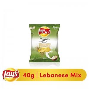 Lays Lebanese Mix Baked Potato Chips, 40 gm
