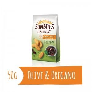 Sunbites Olive & Oregano Bread Bites, 50g