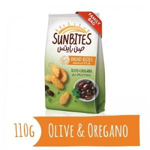 Sunbites Olive & Oregano Bread Bites, 110g