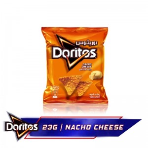 Doritos Nacho Cheese Tortilla Chips, 23g