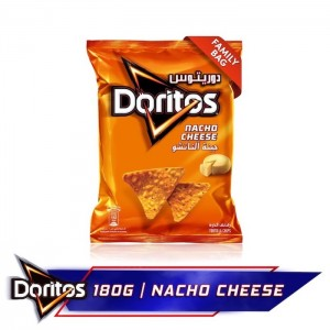 Doritos Nacho Cheese Tortilla Chips, 180g
