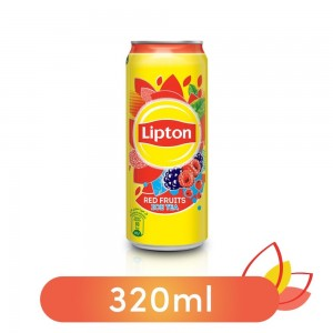 Lipton Liquid Red Fruits Non-Carbonated Iced Tea Drink Can - 320ml
