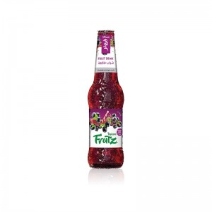 Tropicana Frutz, Blackcurrant Cocktail, Glass Bottle, 300ml