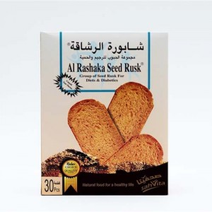 Al Rashaka Rusks Group of Seeds for Diet and Diabetics 420 gms