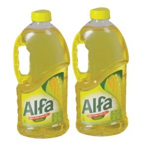 Alfa Corn Oil 2X1.5Ltr