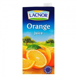 Lacnor Essentials Orange Drink - 1 Liter