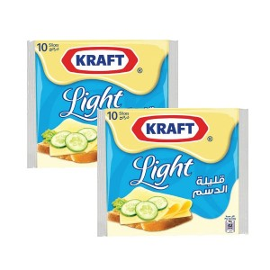 Kraft Kraft Slices Light 2x 2 0 0 g
