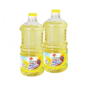 Lesieur Sunflower Oil 2X2ltr