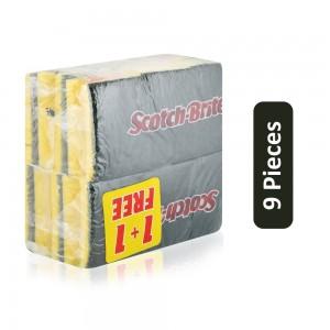 Scotch Brite Scouring Pad - 9 Pieces