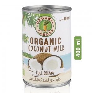 Organic Larder Full Cream Coconut Milk - 400 ml