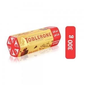 Toblerone Honey and Almond Swiss Chocolate - 300 g