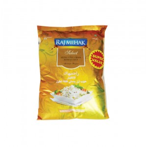 Raj Mehak Indian Basmati Rice 5Kg