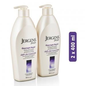 Jergens Overnight Repair Lotion - 2 x 400 ml