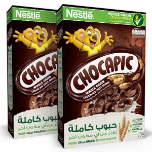 Nestle Chocapic Chocolate Breakfast Cereal 375 (2 Packs) @ 15% Off