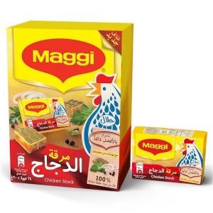 Maggi Chicken Stock Bouillon, 24 Pcs