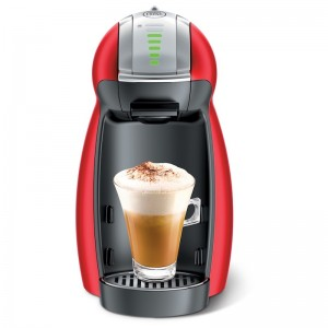 Nescafe Dolce gusto genio2 Coffee Machine (Red)