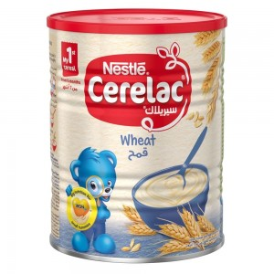 NESTLE CERELAC Infant Cereals with iRON+ WHEAT Baby Food 400g Tin