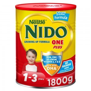 NESTLE NIDO One Plus growing up milk powder for toddlers 1-3 years 1800g tin at 10% Off