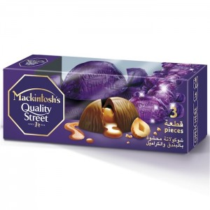 Mackintosh's Quality Street Chocolate Filled with Whole Nut and Caramel - 27g