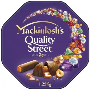 Mackintosh's Quality Street Chocolate 1.25kg Tin