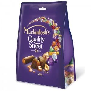 Mackintosh Quality Street Chocolate 400g Pouch