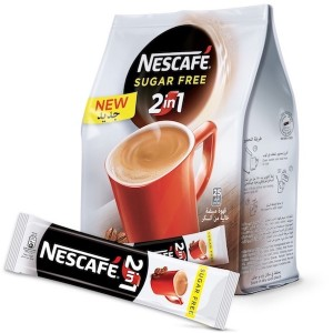 Nescafe 2In1 Instant Coffee Mix Sachet 11.7g, 25 Pcs