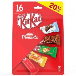 Nestle KitKat Mini Moments Chocolates 16 pieces Promo pack