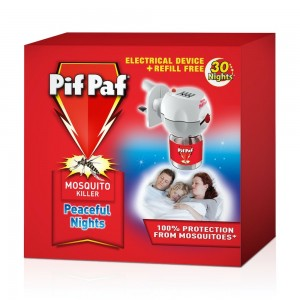 Pif Paf Liquid Electrical Device WITH 30 Night refill