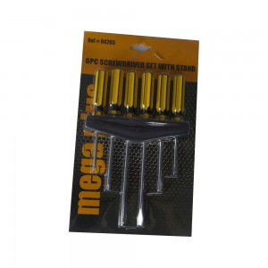 Mega Plus M+6P Screwdriver Set W/Stand