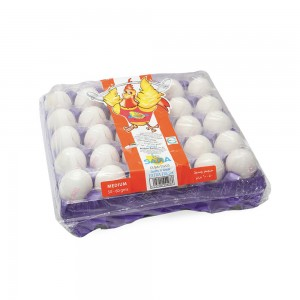 Saha Fresh Eggs White Medium 30's