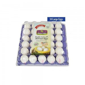 Al Maraba Large Fresh White Eggs 30's