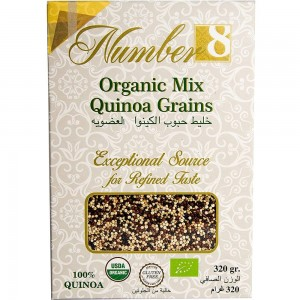 Number8 Organic Mix Quinoa 320g