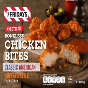 TGIF Boneless Chicken Bites Buffalo Stlye Spicy - 250gm