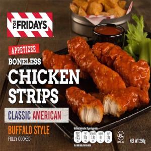 TGIF Boneless Chicken Strips Buffalo Stlye Spicy - 250gm