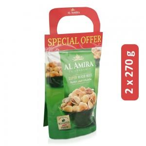 Al Amira Super Mixed Nuts - 2 x 270 g