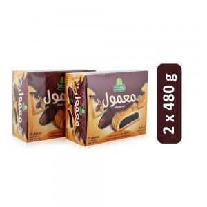 Halwani Bros Maamol Dates Filled Cookies - 2 x 480 g