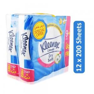 Kleenex Cottonelle Dry Soft Bathroom Tissue - 12 x 200 Sheets