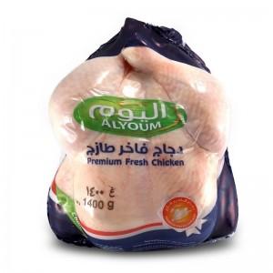 Alyoum Whole Chicken Fresh Premium Aa, 1400 gm