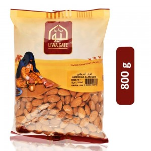 Liwa Gate American Almonds - 800 g