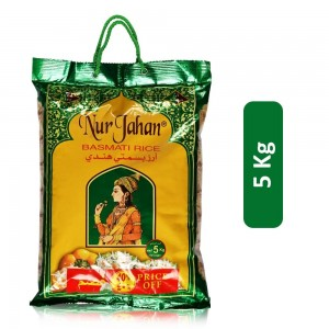 Nur Jahan Basmati Rice - 5 Kg